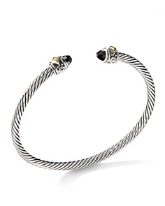 David Yurman - Renaissance Bracelet with Black Onyx & 18K Yellow Gold