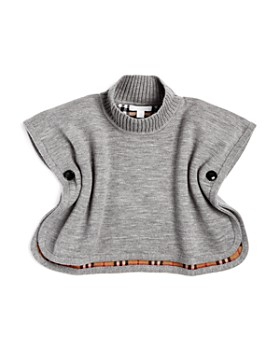 Burberry - Girls' Mini Beatrix Reversible Wool Cape - Baby
