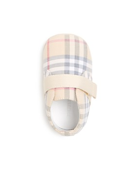 Burberry - Unisex Charlton Crib Shoes - Baby