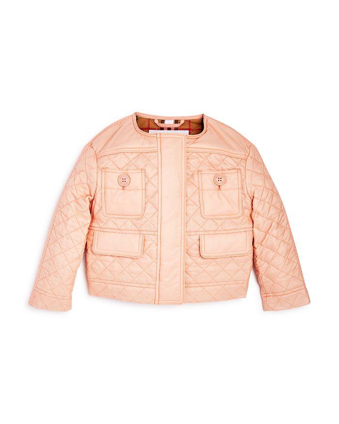 Burberry - Girls' Mini Tollamo Quilted Jacket - Little Kid, Big Kid