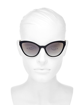 2a65327314e ... 55mm Miu Miu - Women s Mirrored Cat Eye Sunglasses