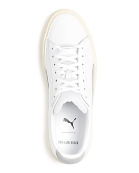 PUMA - Han Kjobenhavn Basket Leather Lace-Up Sneakers