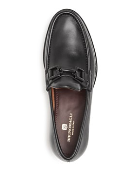 Bruno Magli - Men's Falcone Leather Moc-Toe Loafers
