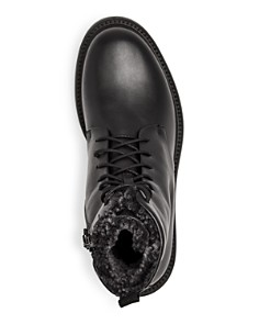 Aquatalia - Men's Charles Weatherproof Leather & Shearling Boots