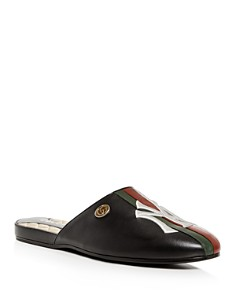 Gucci - Men's NY Yankees™ Leather Slipper