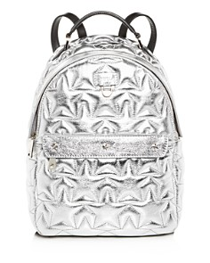 Furla - Favola Star-Quilted Leather Backpack