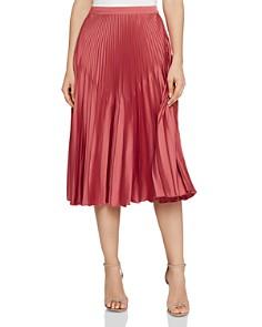REISS - Isidora Pleated Midi Skirt
