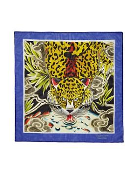 Massimo Alba - Tiger-Print Handkerchief
