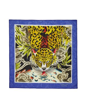 Massimo Alba Tiger Handkerchief