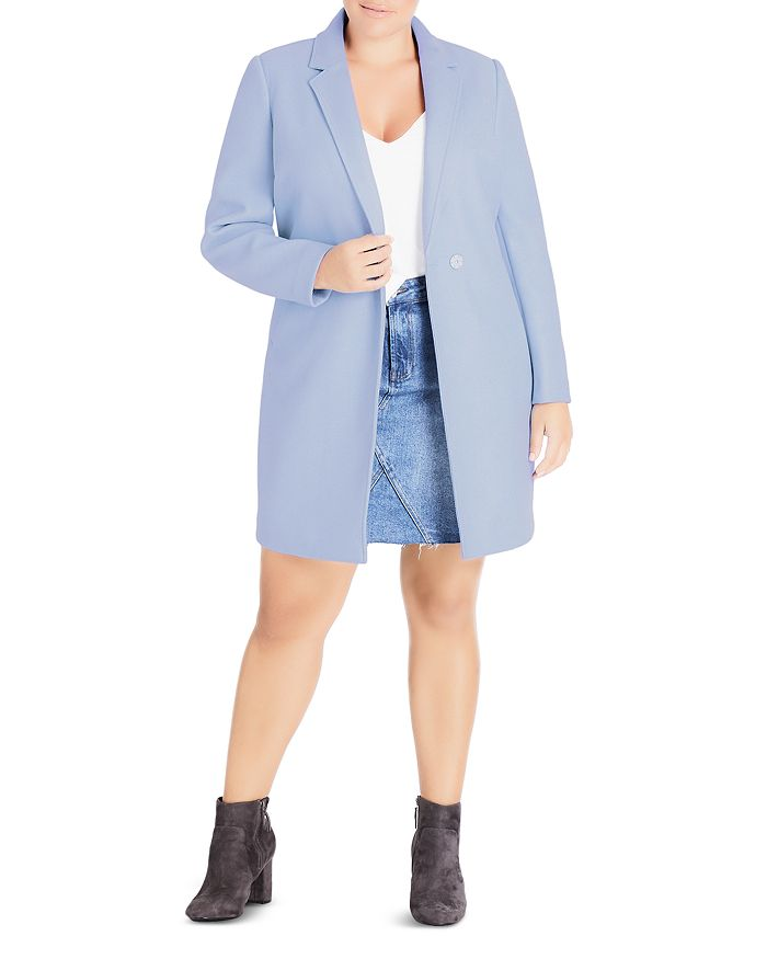 City Chic Plus - Well Tailored Coat