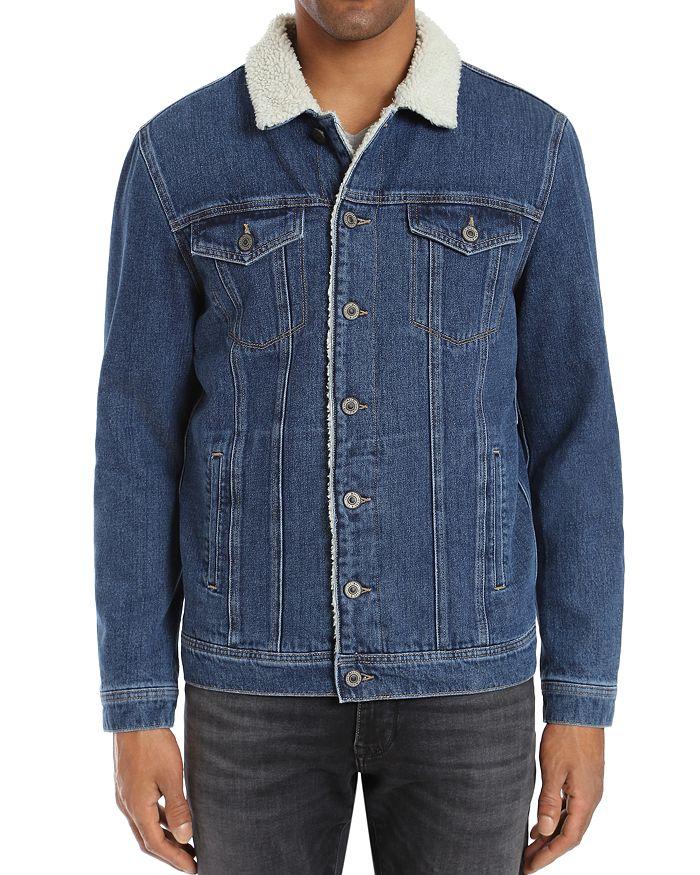 Mavi - Frank Sherpa-Lined Denim Jacket