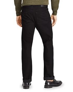 Polo Ralph Lauren - Hudson Stretch Varick Slim Straight Fit Jeans in Black