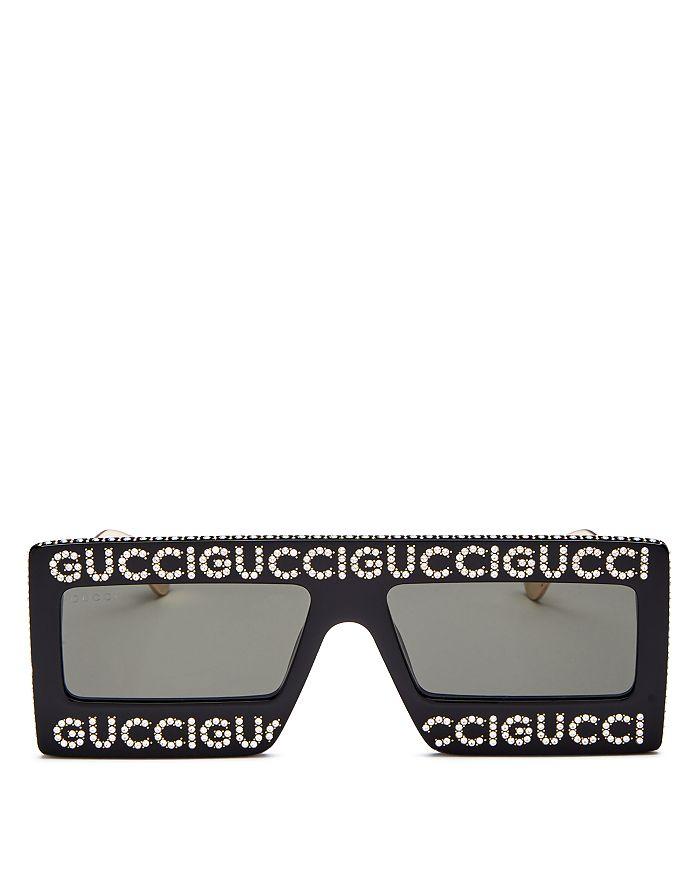 bee2dd77ca Gucci - Men s Oversized Flat Top Square Sunglasses