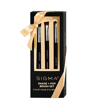 Sigma Beauty - Shade + Pop Brush Gift Set ...
