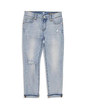 7 For All Mankind Girls Josefina Distressed Jeans  Big Kid