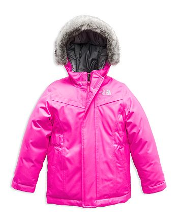 The North Face® - Girls' Greenland Faux-Fur-Trimmed Down Parka - Little Kid