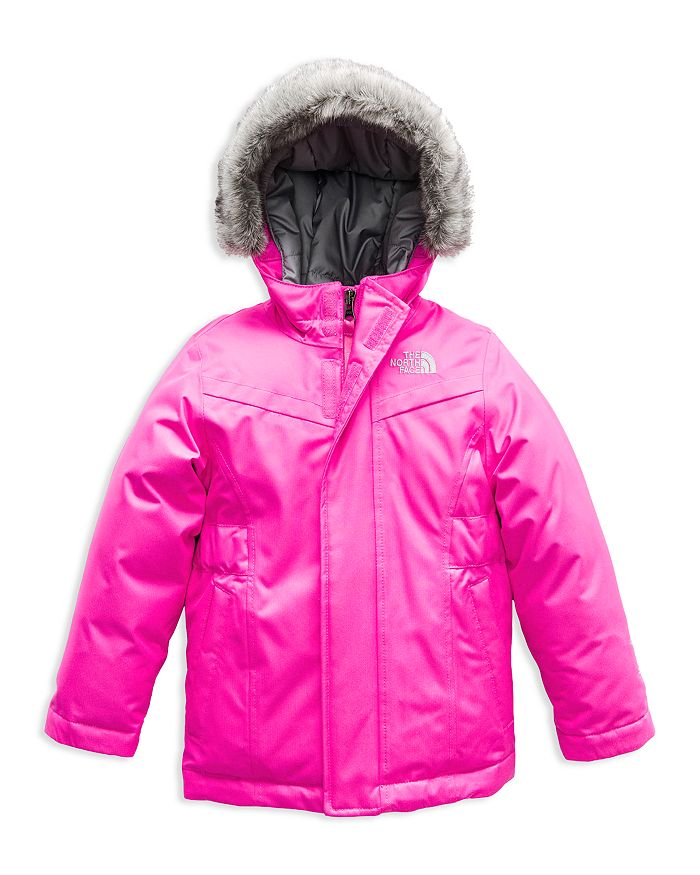 The North Face® - Girls' Greenland Faux-Fur-Trimmed Down Parka - Little Kid, Big Kid
