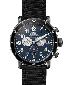 Shinola - Runwell Blue Dial Sport Chronograph, 48mm