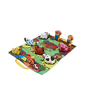 Melissa & Doug - Take-Along Farm Play Mat - Ages 6 Months+
