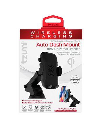Tzumi - Wireless Charging Auto Dash Mount