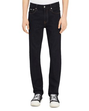Calvin Klein Jeans Slim Fit Jeans in Blue Rinse