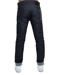 Sean John - Side-Stripe Relaxed Fit Jeans in Raw Indigo