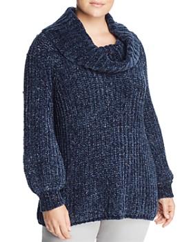 525 America Plus - Chenille Cowl-Neck Sweater