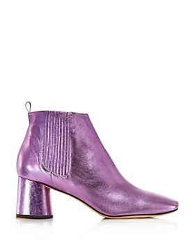 MARC JACOBS - Women's Rocket Round Block Heel Chelsea Booties