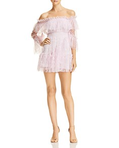 Alice McCall - Only Hope Lace Mini Dress