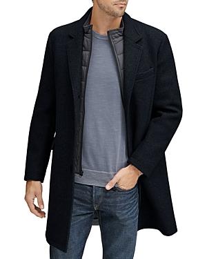 Cunningham Stretch Wool Top Coat