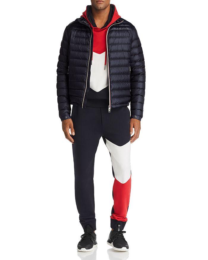 5cc6b067ff Daniel Down Jacket, Chevron Sweatshirt & Tailored Track Pants