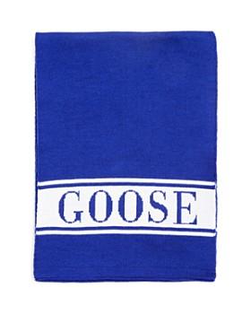 Canada Goose - Unisex Wool Logo Scarf