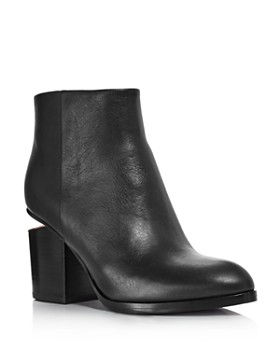 Alexander Wang - Women's Gabi Round Toe Booties