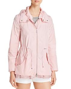 Moncler - Loty Logo Trim Rain Jacket