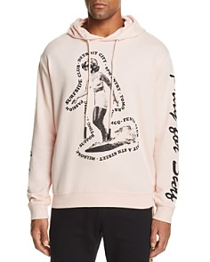McQ Alexander McQueen - Big Graphic Hooded Sweatshirt
