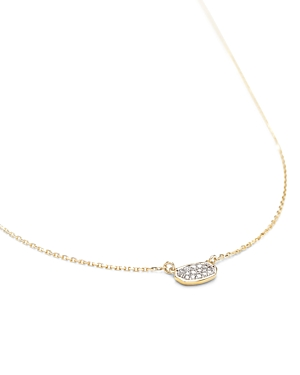 Kendra Scott Marisa Diamond Necklace in 14K Yellow Gold or 14K White Gold, 18