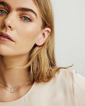 Kendra Scott - Gypsy Diamond Stud Earrings in 14K Yellow Gold or 14K White Gold