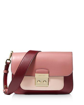 fa285148138a MICHAEL Michael Kors Sloan Editor Color Block Shoulder Bag ...