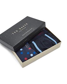 Ted Baker - Surfer 2-Piece Boxer Shorts & Sock Gift Set
