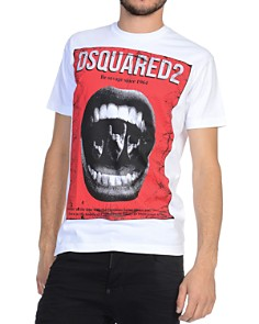 DSQUARED2 - Punk Logo Graphic Tee
