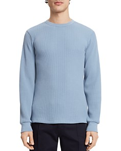 Theory - Waffle-Knit Sweatshirt