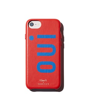 Clare V. - x Casetify Oui Leather iPhone 6/7/8 Case