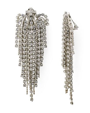 4bf3c0720c59e Dannijo Esme Clip-On Earrings | Bloomingdale's