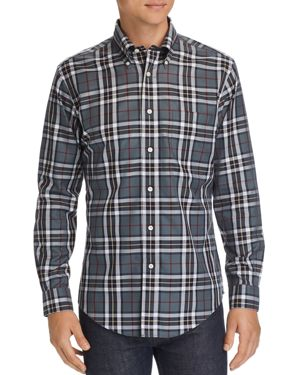 Brooks Brothers Holiday Tartan Classic Fit Button-Down Shirt