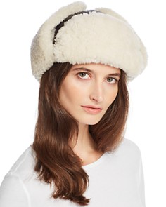 Crown Cap - Shearling Aviator Hat