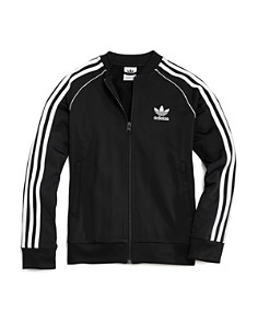 Adidas - Girls' Zip-Up Track Jacket - Big Kid