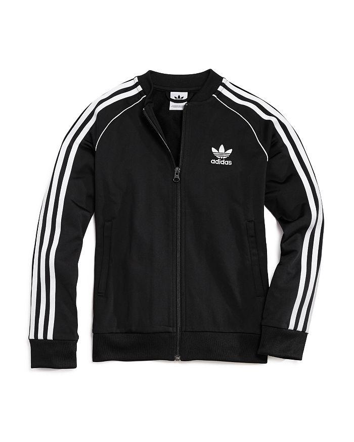 Adidas - Unisex Zip-Up Track Jacket - Big Kid