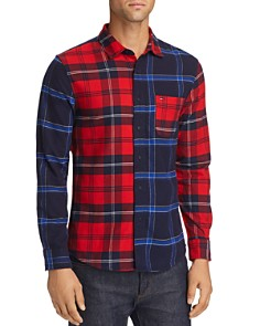 Tommy Jeans - Patchwork Check Flannel Regular Fit Shirt