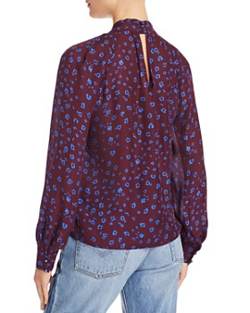 Parker - Battista Twist-Neck Blouse