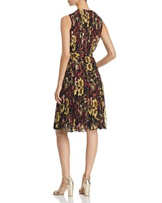 CATHERINE Catherine Malandrino - Desree Pleated Floral-Print Dress